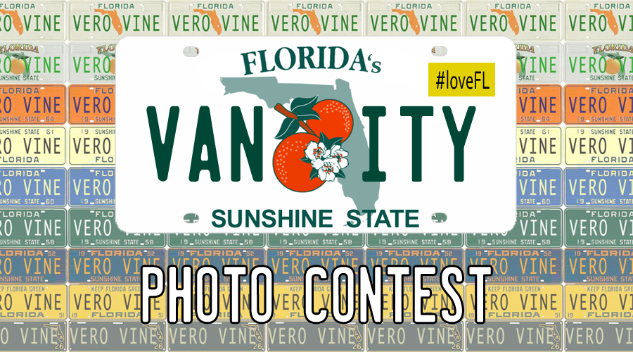 Florida's Vanity License Plate Photo Contest