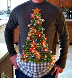 Do it yourself ugly christmas sweaters vero vine weve got you covered in the ugly sweater department these awesome diys can be done in no time and youll have so much fun making them solutioingenieria Image collections